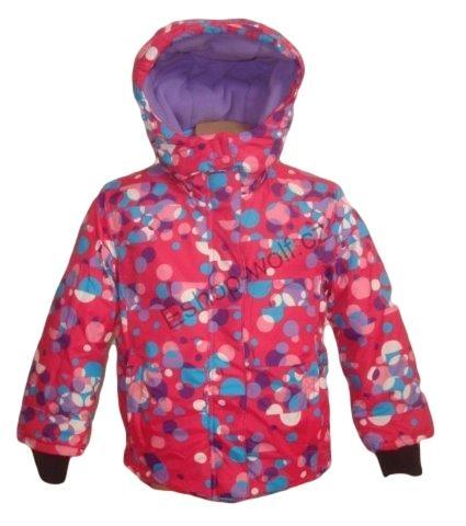 Dívčí zimní bunda Wolf vel. 92,98,104 růžová