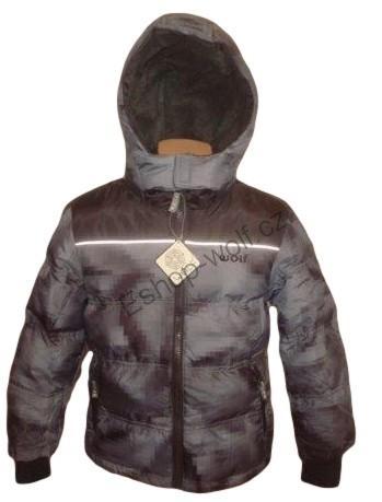 Chlapecká zimní bunda Wolf vel. 86,92,98,104 šedá
