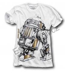 Pánské tričko Star Wars vel. M bílé
