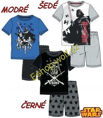 Letní pyžamo Star Wars-The Clone Wars vel. 128,152 šedé