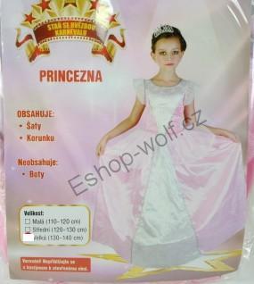 Karnevalový kostým Princezna vel. 130-140