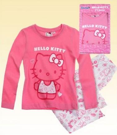 Pyžamo Hello Kitty v dárkové krabičce vel. 92,104,116,128 tmavě ...