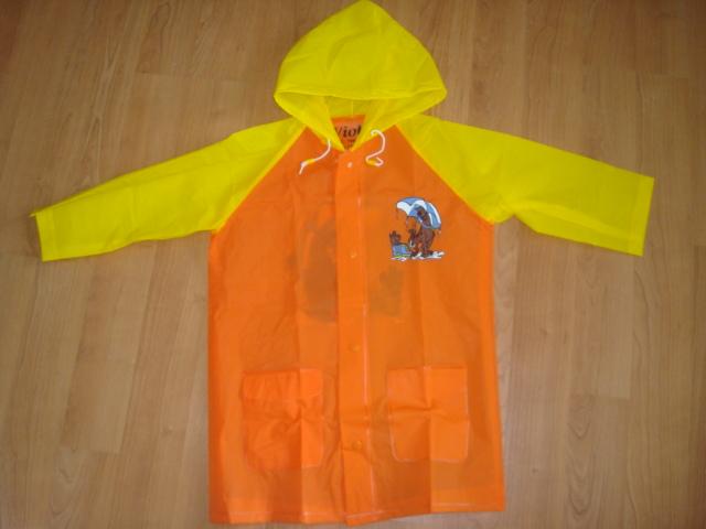Pláštěnka Scooby Doo vel. 98,110 oranžová