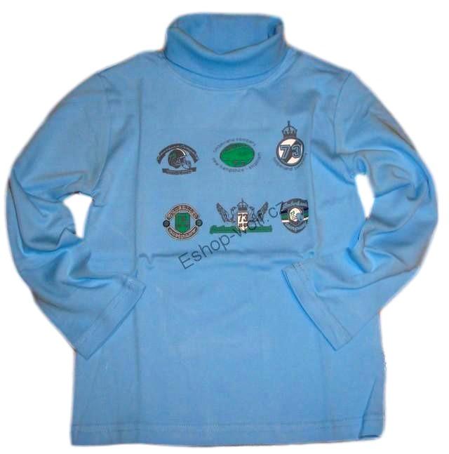 Chlapecký rolák Wolf vel. 98,104,110,116,122 světle modrý