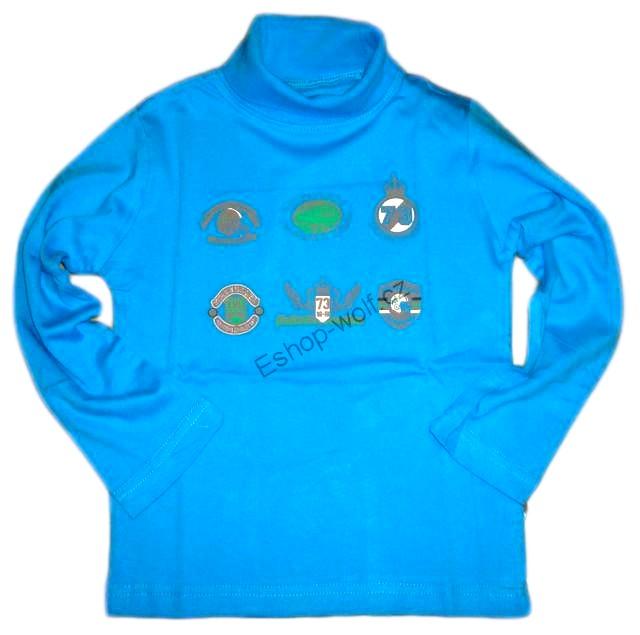 Chlapecký rolák Wolf vel. 98,104,110,122,128,134 modrý