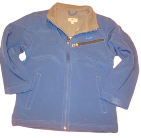 Jarní/podzimní softshellová bunda Wolf vel. 128 tmavě modrá