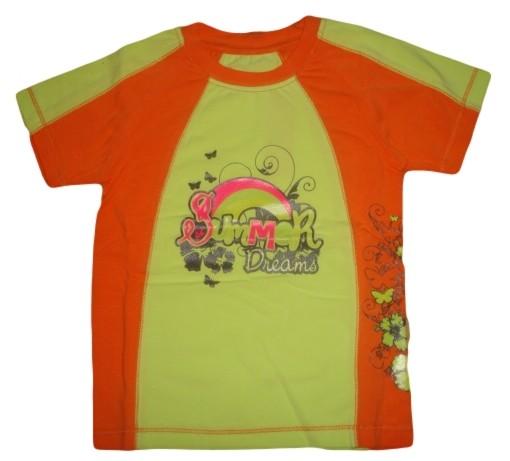 Dívčí tričko Wolf vel. 104,116,122 oranžové