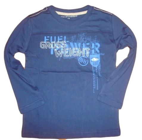 Chlapecké triko Wolf vel. 116,122,140 tmavě modré