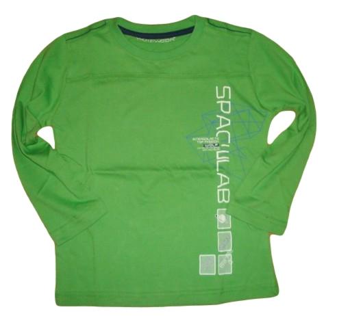 Chlapecké triko Wolf vel. 116 zelené