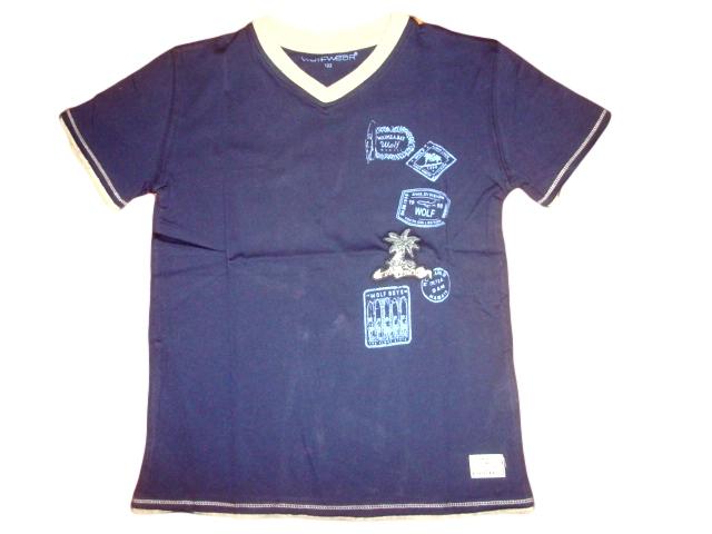 Chlapecké tričko Wolf vel. 116,128,140 tmavě modré