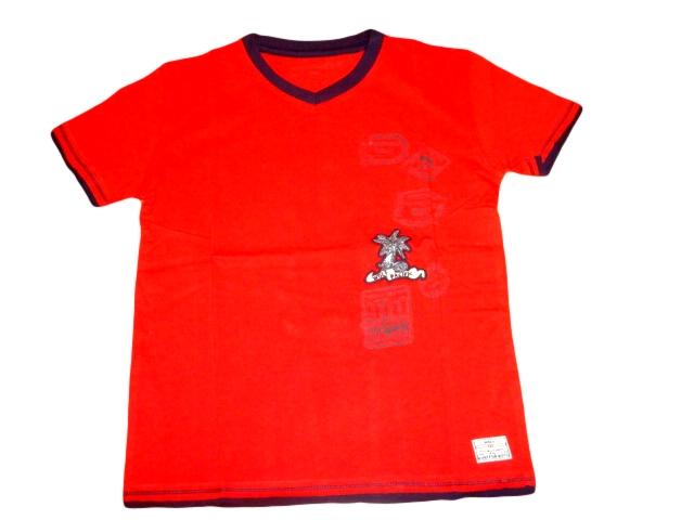 Chlapecké tričko Wolf vel. 116,122,140,146 červené