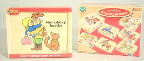 Kostky Zmatlíková - Honzíkovy kostky