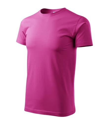 Klasické rovné tričko Adler vel. XS,S,M,L,XL,XXL tmavě růžové