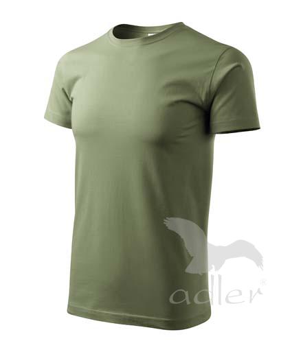 Klasické rovné pánské tričko Adler vel. S,M,L,XL,XXL khaki