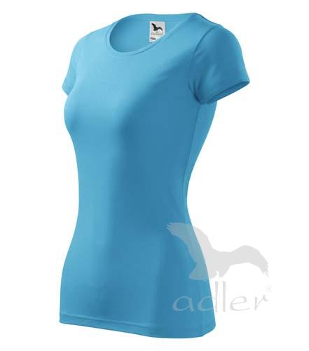 Dámské tričko Adler Glance vel. XS,S,M,L,XL tyrkysové
