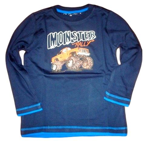Chlapecké triko Wolf vel. 98,104 tmavě modré