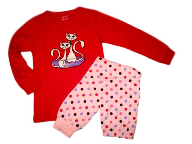 Dívčí pyžamo Wolf vel. 140,170 tmavě růžové