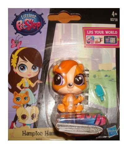 LPS Littlest Pet Shop 4063 Hampton Hamill