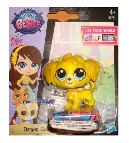 LPS Littlest Pet Shop 4064 Damon Golden