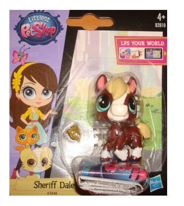LPS Littlest Pet Shop 3948 Sheriff Dale