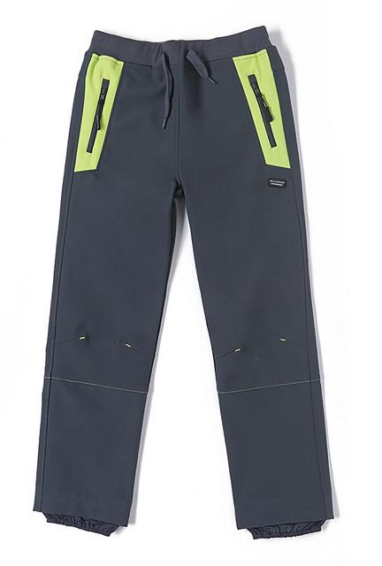 Softshellové kalhoty Wolf vel. 128,134,140,146 šedé