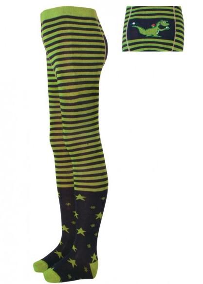 Bambusové punčocháče Trepon vel. 68,74,80/86,92/98,98/104,110/116 zelené