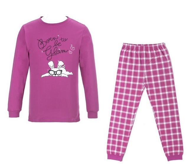 Dívčí pyžamo Wolf vel. 140,150,160,170 fialové