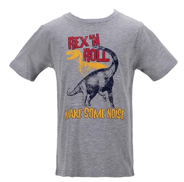 Chlapecké tričko Wolf vel. 116,122,128,134,140,146 šedé