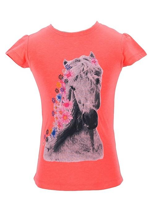Dívčí tričko Wolf vel. 98,104,110,116,122 meruňkové
