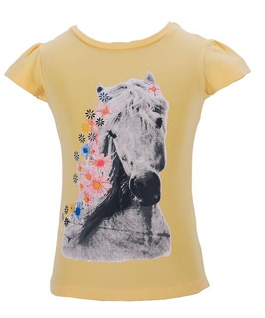 Dívčí tričko Wolf vel. 98,104,110,116,122,128 žluté