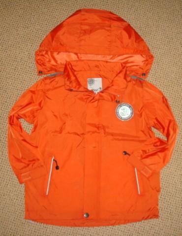 Letní bunda Wolf vel. 128 oranžová