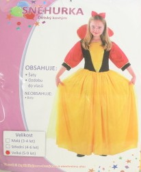 Karnevalový kostým Sněhurka vel. 120-130