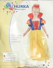 Karnevalový kostým Sněhurka vel. 92-104