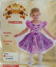 Karnevalový kostým Princezna vel. 92-104 barva fialová