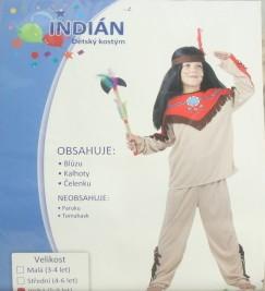 Karnevalový kostým Indián vel. 120-130