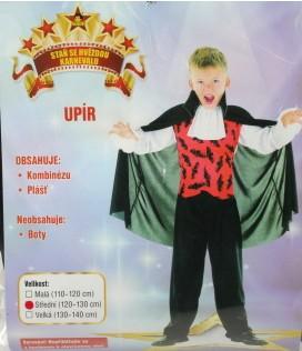 Karnevalový kostým Upír vel. 120-130