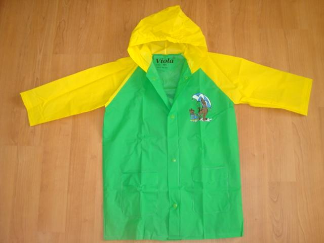Pláštěnka Scooby Doo vel. 98 zelená